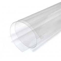 Листовой пластикат ПВХ прозрачный